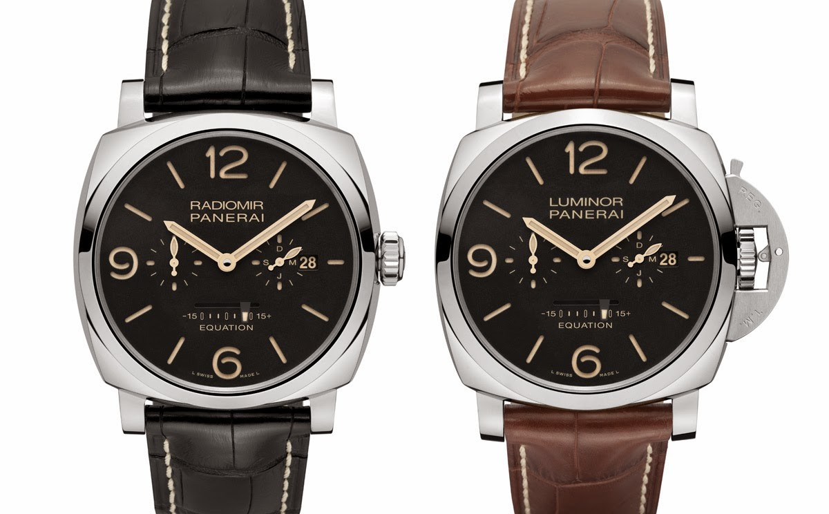 A Panerai Comparison Radiomir or Luminor