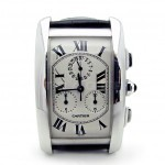Cartier_18k_White_Gold_Tank_Chrono_1