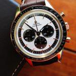 Omega Speedmaster 18k Rose SEDNA Gold Moonwatch Manual Chronograph 311.63.40.30.02.001 a