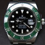 Rolex Submariner Kermit Green bezel 126610LV g
