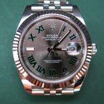 Rolex Wimbledon 126334 Steel h